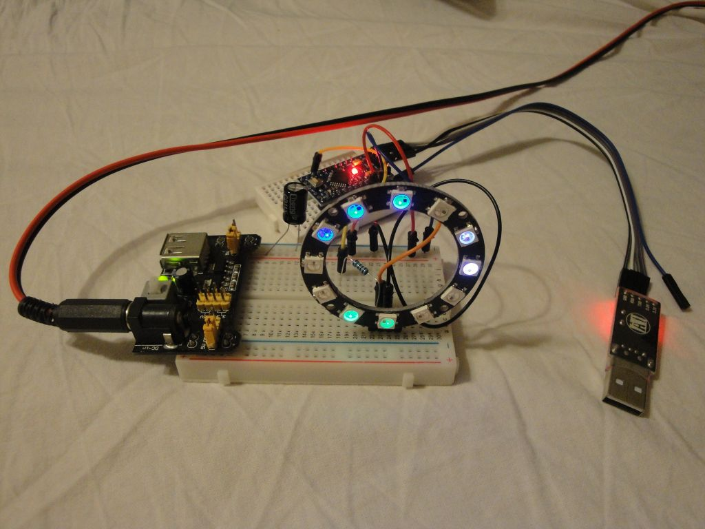 Arduino Slovakia - NeoPixel Ring Clock - Basic Data