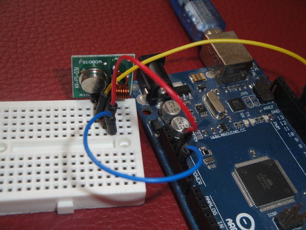 Arduino Slovakia - Rádio moduly 433 MHz pomocí knihovny