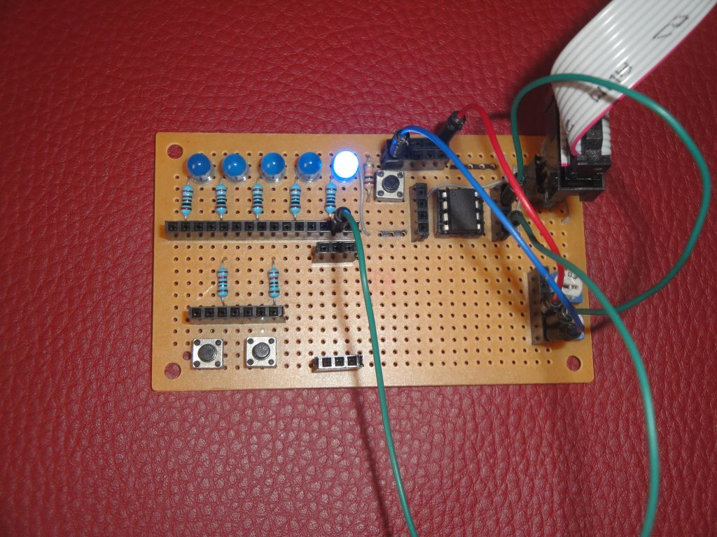 Arduino Slovakia Attiny85 Piranha Led Lamp Project Circuit Current Through The To 11 13 Ma This Depends On Battery Voltage I Used A Flat With Of 45 V That Left My Previous
