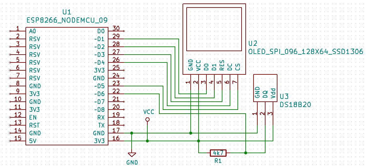 Arduino Slovakia - ESP8266 - Thermometer with DS18B20